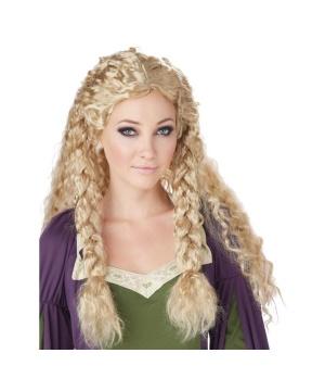 Warrior Princess Blonde Wig