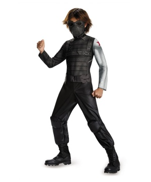 Winter Soldier Boys Costume