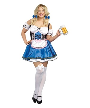 Womens Beer Costume plus size