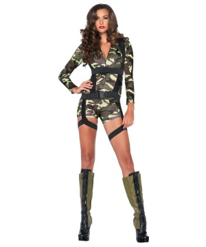 Womens Commando Costume