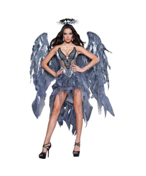 Womens Angelicious Costume