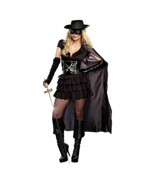 Womens Double Edged Diva Costume