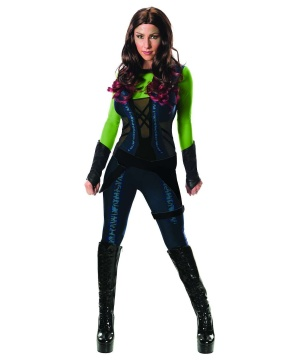 Womens Guardians Galaxy Gamora Costume