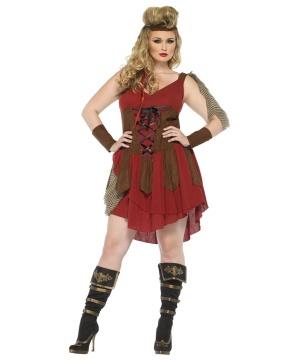 Womens Huntress Costume plus size