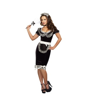 Womens Keep It Clean Clean plus size Costume