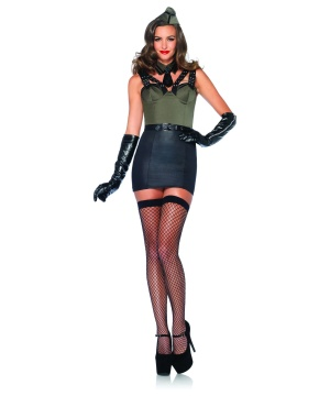 Womens Major Bombshell Costume