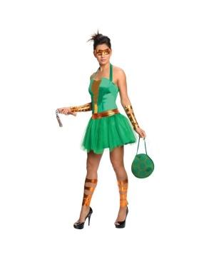 Womens Michelangelo Costume Dress