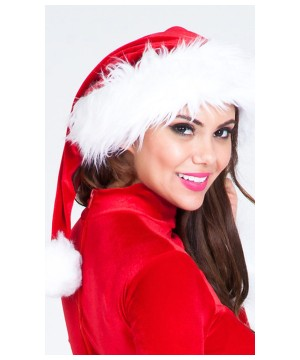Womens Mrs Claus Hat
