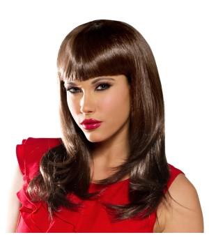 Womens Neon Brown Wig