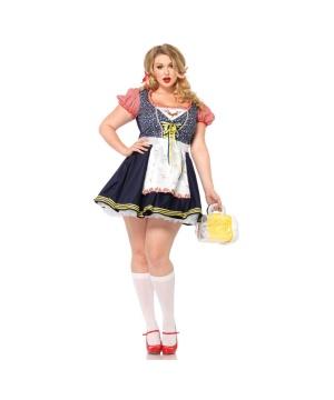 Womens Oktoberfest Costume plus size