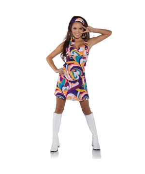 Womens Peace Hippie Costume