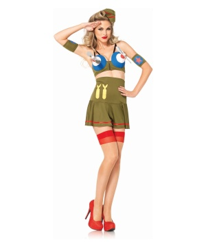 Womens Pin up Girl Costume