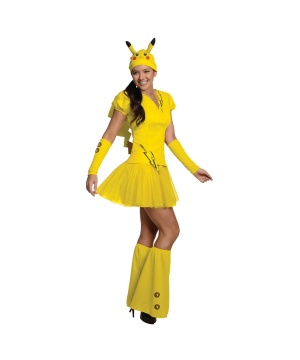 Womens Pokemon Pikachu Costume
