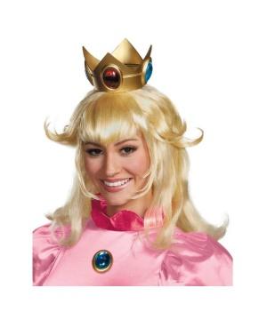 Womens Princess Peach Wig