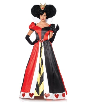 queen of hearts womens costume women costume. Black Bedroom Furniture Sets. Home Design Ideas