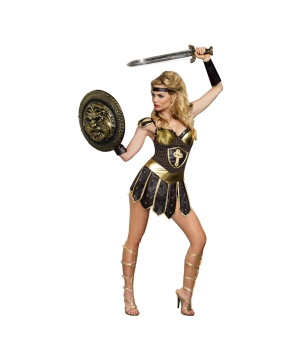 Womens Queen Swords Costume