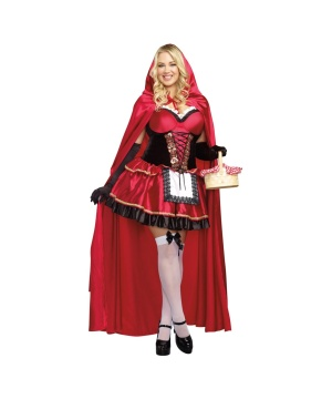 Womens Red Riding Hood plus size Costume