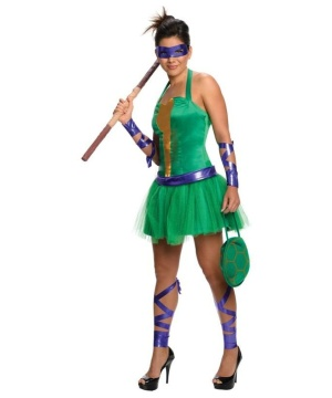 Womens Tmnt Donatello Costume Dress