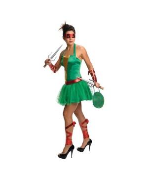 Womens Tmnt Raphael Costume Dress