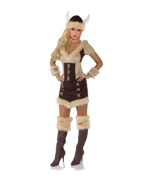 Womens Viking Queen Costume