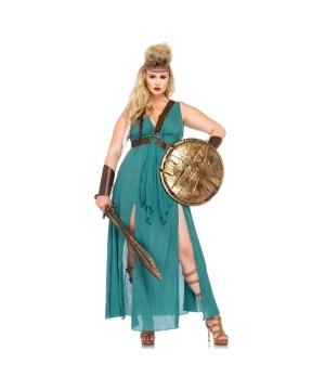 Womens Warrior plus size Costume