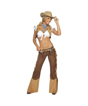 Womens Western Sheriff Costume