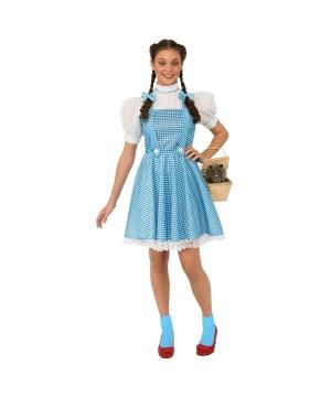 Womens Wizard Oz Dorothy Costume