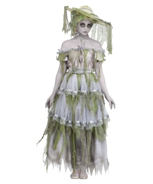 Womens Zombie Southern Belle Costume