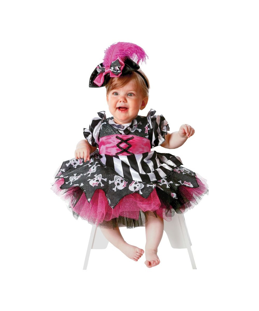 Any kid who dreams of a pirate's life will love our selection of Child Pirate Costumes. We have costumes for boys and for girls. They come in sizes from infant through teen.