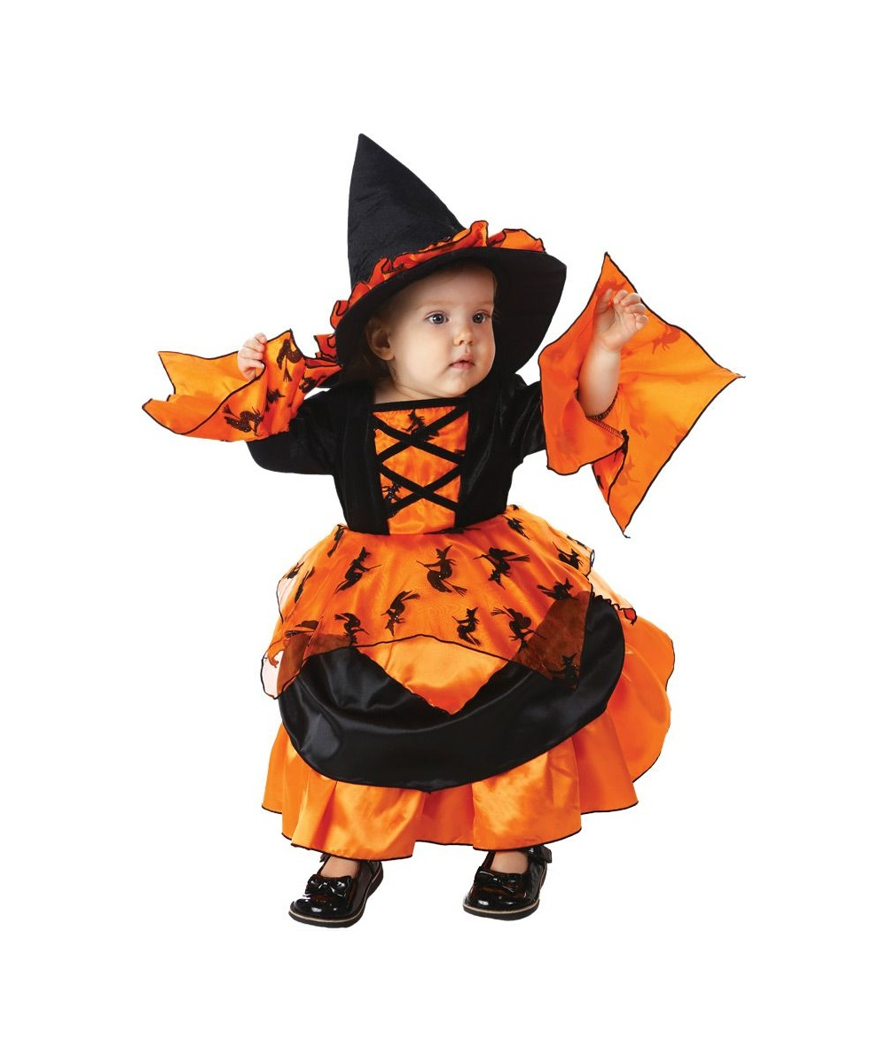 Sugar Pink Witch Costume - Toddler Halloween Costume