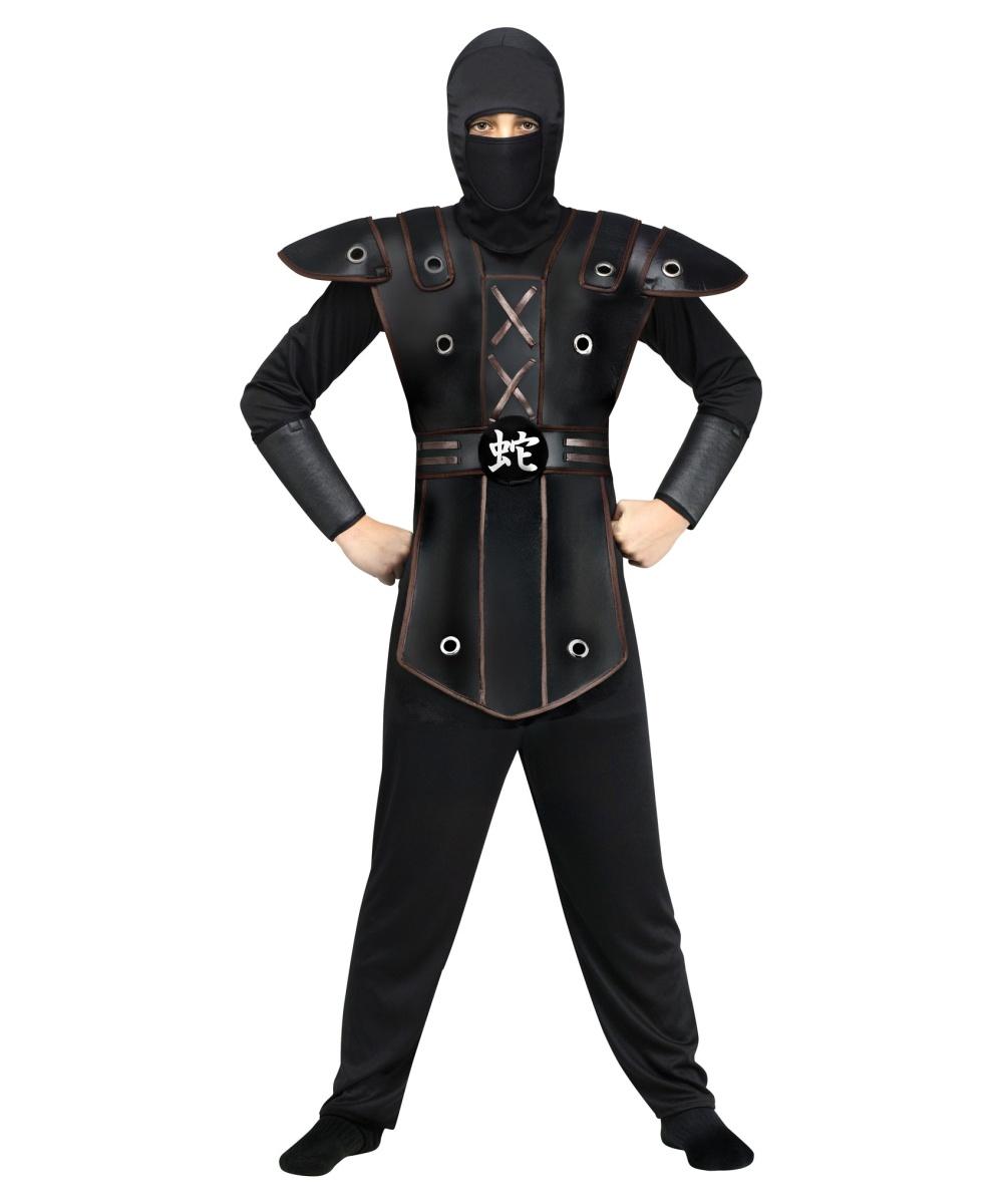 how to make your shirt look like a ninja