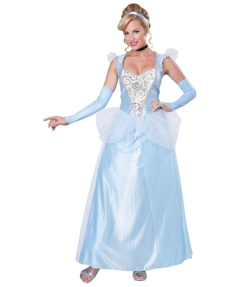 Classic Cinderella Women Costume