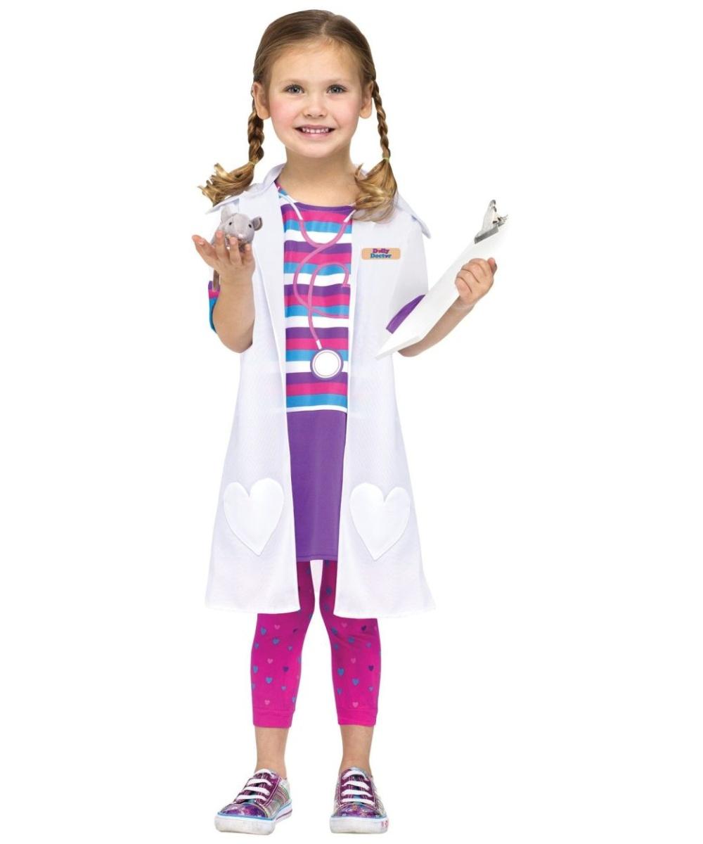 Doc Mcstuffins Vet Baby Girls Costume - Disney Costumes