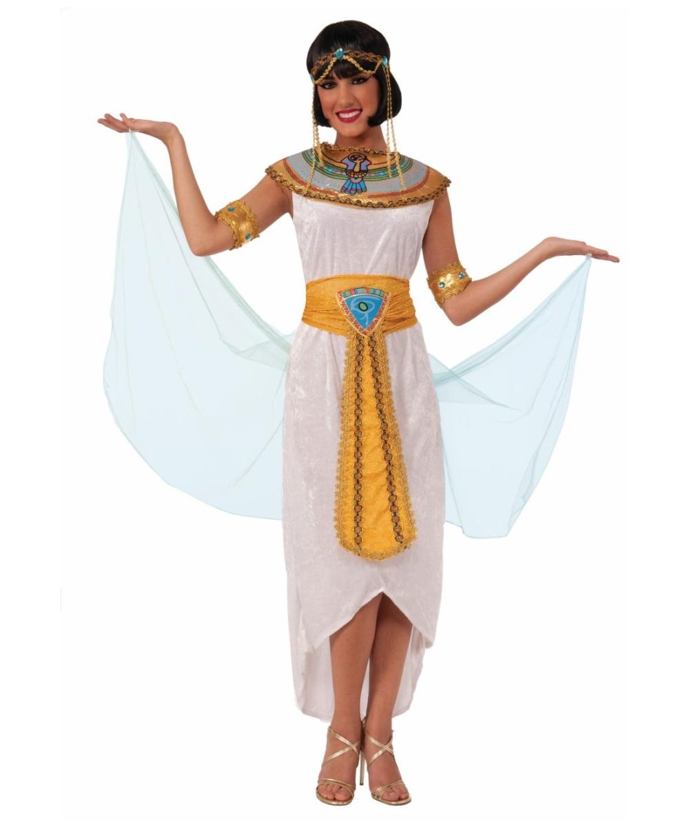 Original  Costume Egyptian Queen Greek Goddess Fancy Dress Ladies Womens  EBay