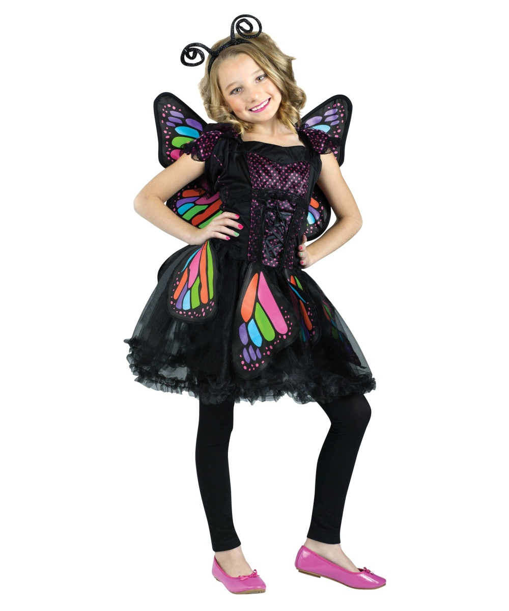 Butterfly Costumes - Dazzling Butterfly Costume & Wings for girls ...