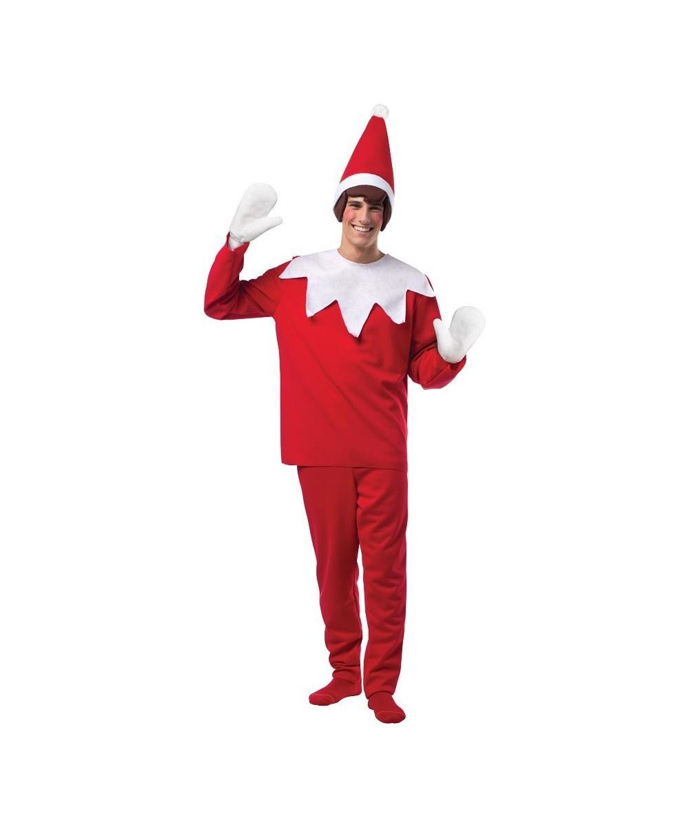 Elf On A Shelf Men S Christmas Costume Men Costume