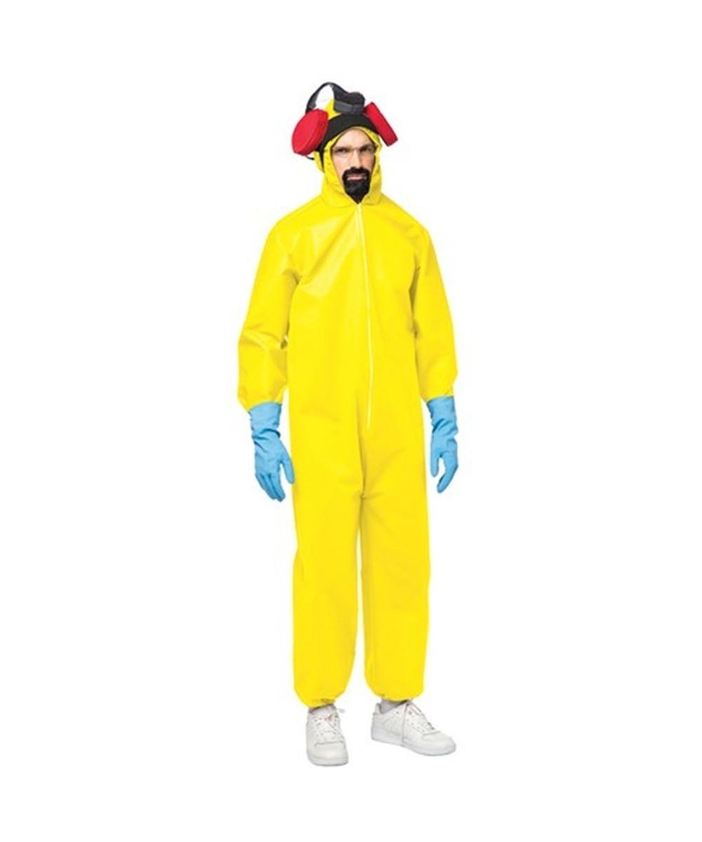 Breaking Bad Hazmat Toxic Suit Costume - Men Costume