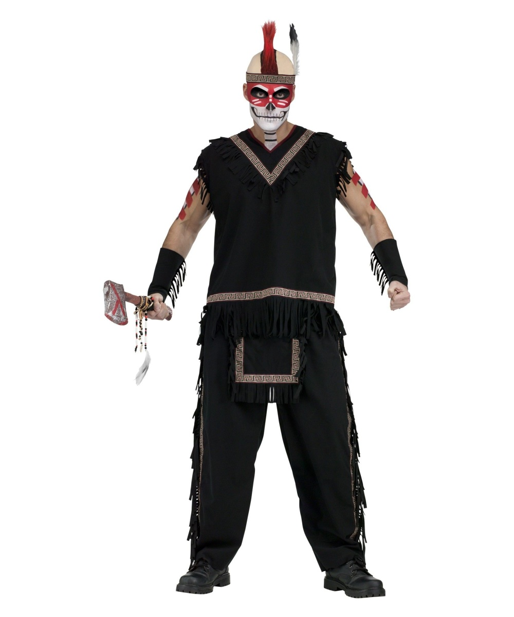 Mens Indian Warrior Costume Men Costume