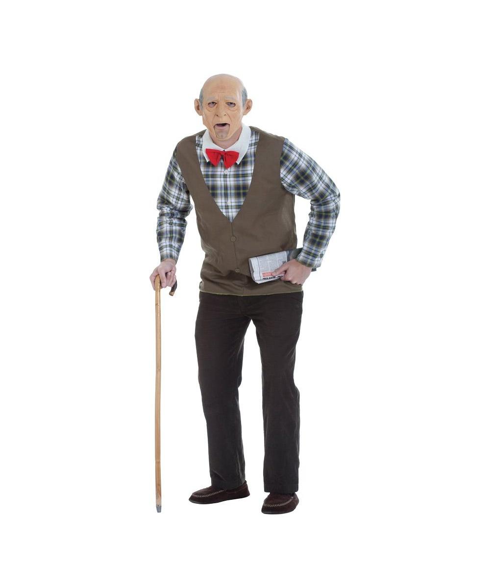 Old Geezer Mens Costume Kit - Men Costume