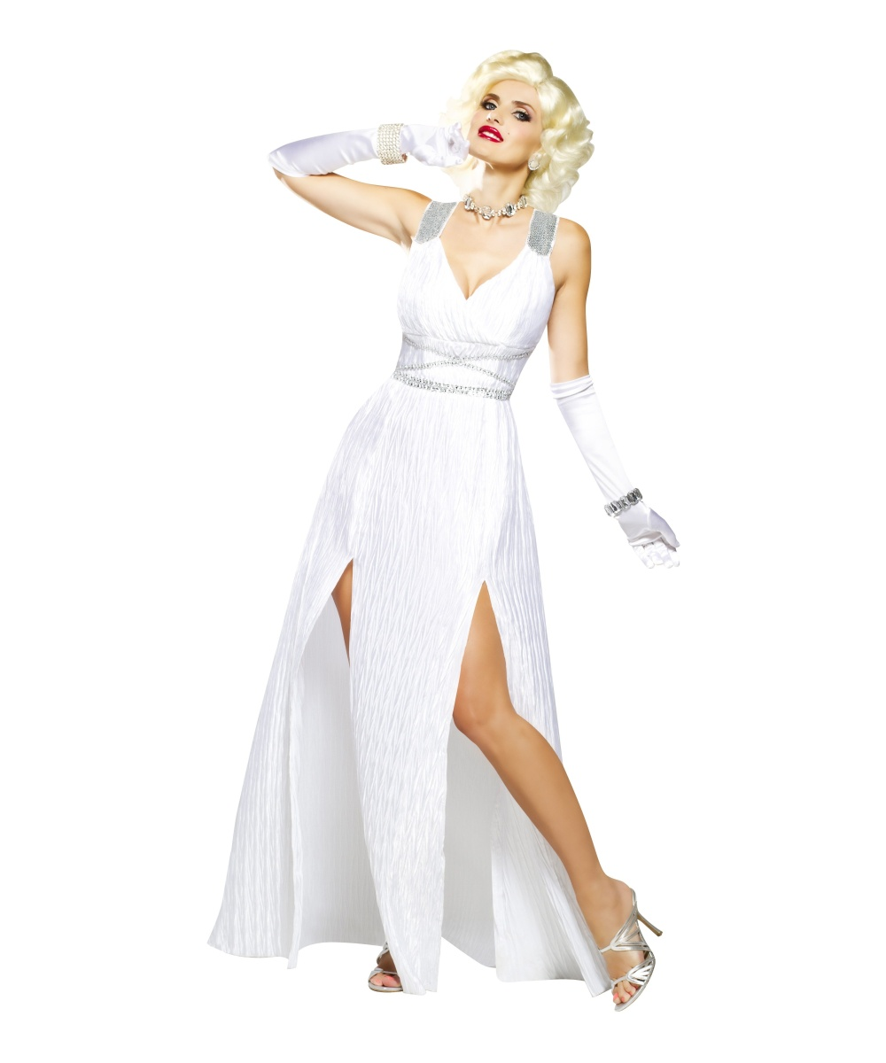 Hollywood Goddess Marilyn Womens Costume Sexy Costume