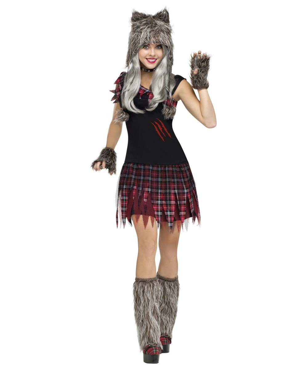 wicked wolfie womens costume women costume