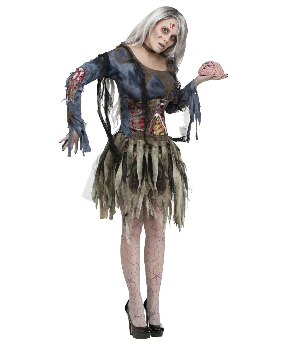 zombie womens costume - Dead Ballerina Halloween Costume