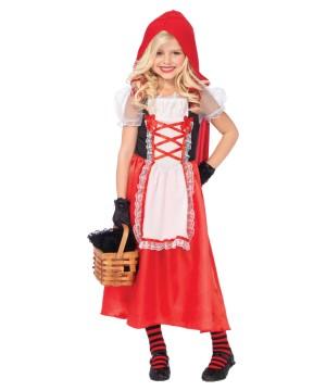 Girls Riding Hood Costume