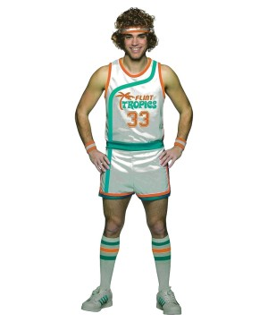 70s Mens Basketball Uniform Costume