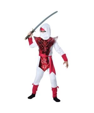 Boys Ghost Shadow Ninja Costume