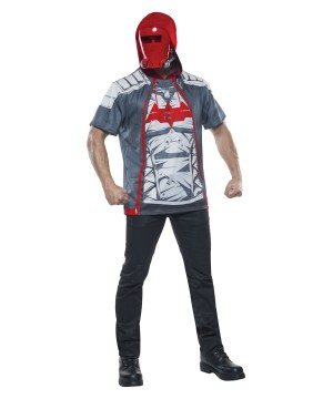 Arkham Red Hood Costume Shirt
