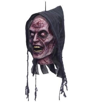 Beheaded Ghoul Head Halloween Prop