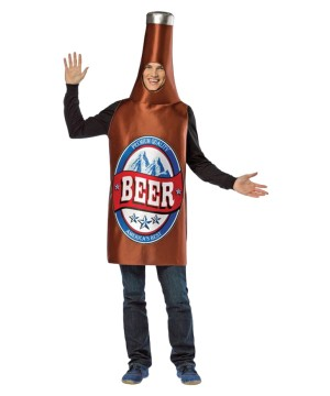 Bottle in America Costume