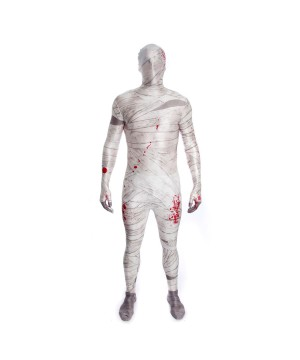 Boys Bloody Mummy Morphsuit Costume