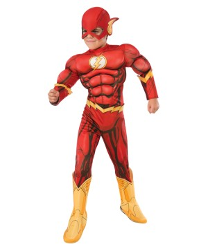 Boys Dc Comics Flash Costume